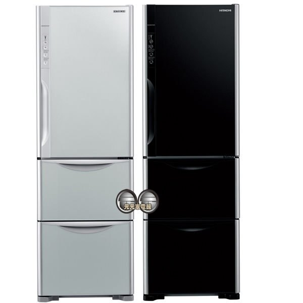~缺貨中~【HITACHI日立】385L三門冰箱 RG41WS~(限區配送安裝)