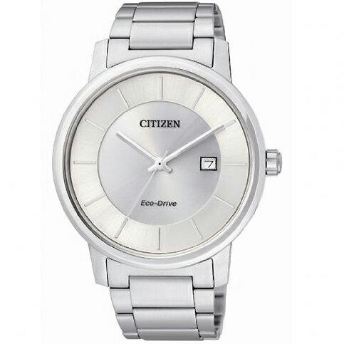 CITIZEN星辰BM6750-59A清雅靜謐三針光動能男錶/白面40mm