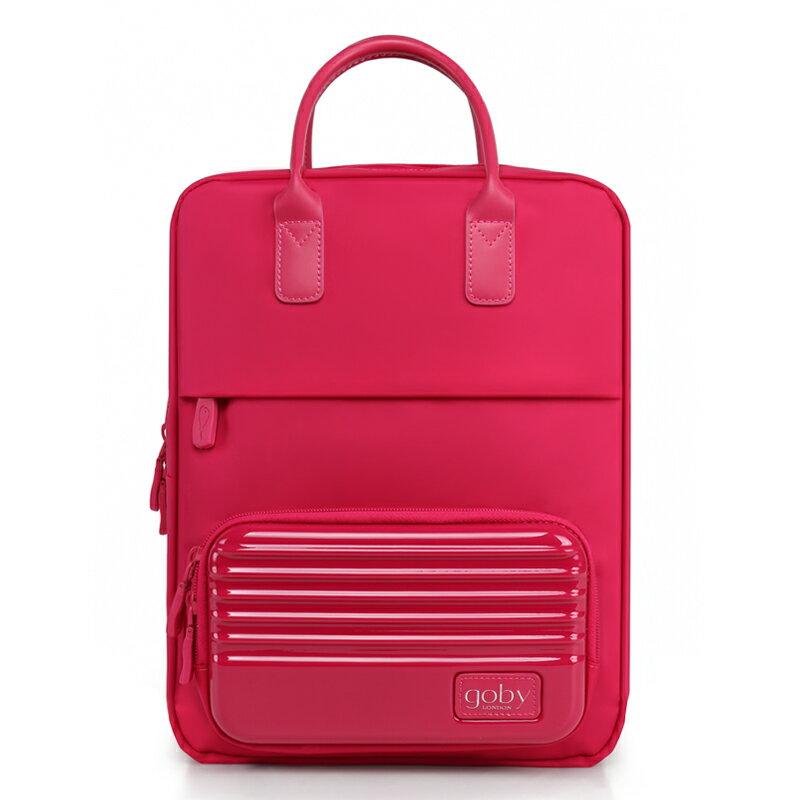 <br/><br/>  GOBY果比 Smart系列-時尚休閒硬殼雙肩包-薔薇紅-T906 [禾雅時尚]<br/><br/>