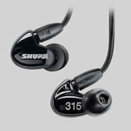 志達電子 SE315 SHURE 美國 可換線耳道式耳機 門市提供試聽服務 SE215 SE425 SE535 SE846