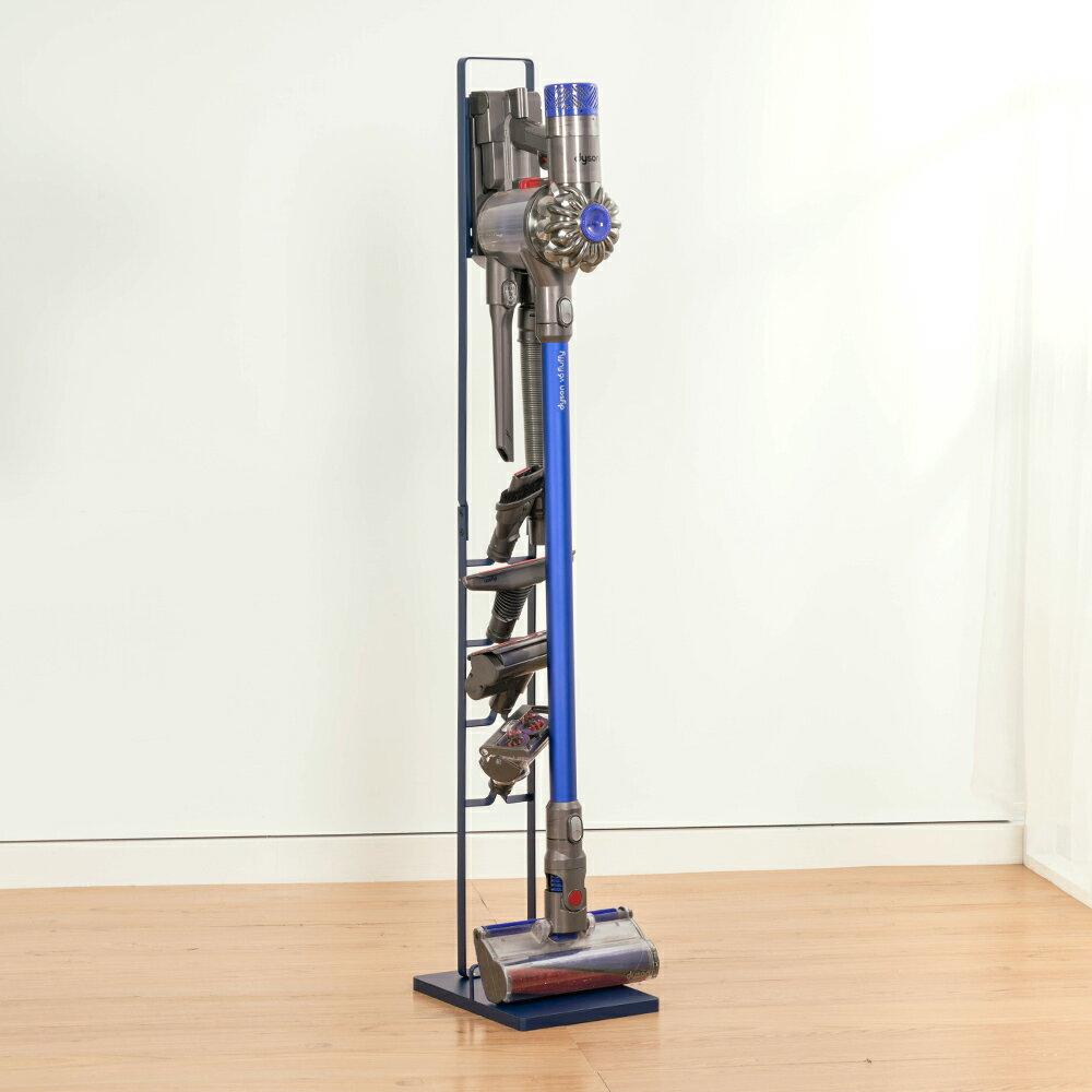 直立式鐵藝吸塵器收納架-2代款 置物架 Dyson 戴森適用 手持式吸塵器掛架 收納架 免運【A050】V7 V8 V10 V11適用 3