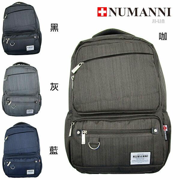 76-2007【NUMANNI 奴曼尼】商務流線型功能性電腦後背包 (四色)