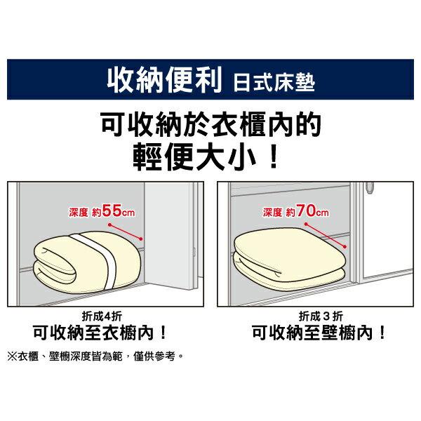 ◆日式床墊 收納便利 單人 NITORI宜得利家居 8