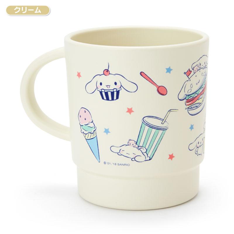 【真愛日本】4901610225134 日本製340ml馬克杯-CN多表情米黃ACPB 大耳狗喜拿狗 馬克杯 杯子