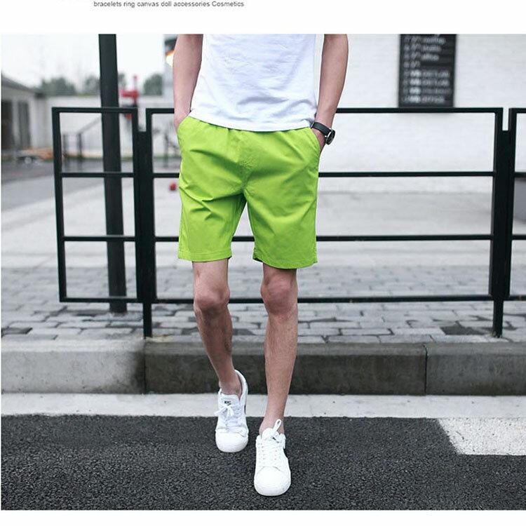 【專區任選2件$580】 最新款日系新品潮流經典純色休閒短褲 1