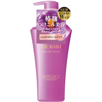 TSUBAKI 思波綺 上質豐盈潤髮精 (軟塌髮適用) 500mL