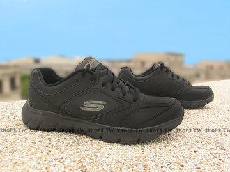Shoestw【12180BBK】SKECHERS 健走鞋 WALK 全黑 柔軟鞋墊 女生