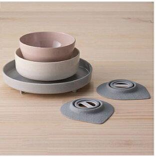 Miniware天然寶貝碗竹纖維兒童餐具五入組-街頭紐約客新品
