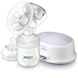 【加贈OSAKI溢乳墊64片】Avent 新安怡 親乳感/輕乳感 PP標準型單邊電動吸乳器/集乳器