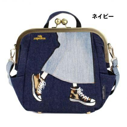 日本mis zapatos / 長裙x帆布鞋設計多功能休閒背包 / b6586 / 日本必買 日本樂天代購直送 9