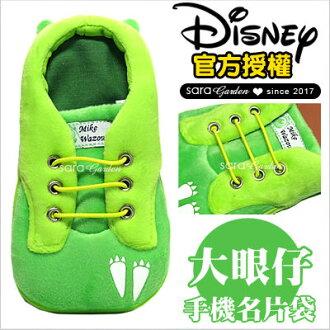正版迪士尼鞋子手機袋大眼仔唐老鴨妙妙貓三眼怪小熊維尼泰瑞史迪奇米奇米妮奇奇蒂蒂毛怪