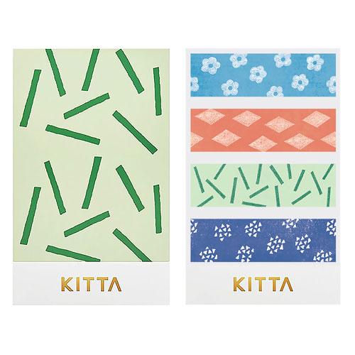 【日本KITTA】隨身攜帶和紙膠帶KIT028包裝紙本