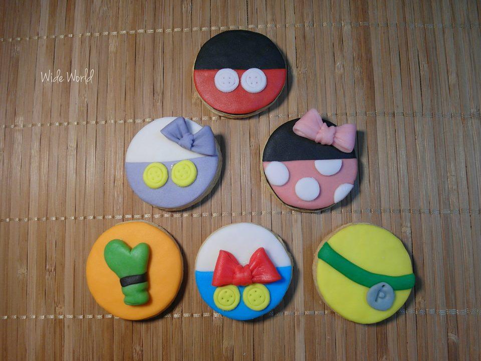可愛迪士尼造型手工餅乾 1盒6入【Wide World 手工餅乾】