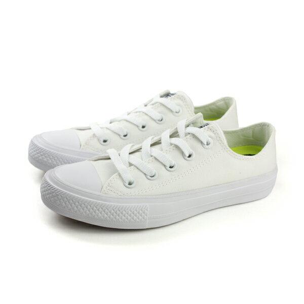 CONVERSE Chuck Taylor All Star II 帆布鞋 運動鞋 低筒 白色 男女鞋 150154C no294