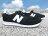 《下殺6折》Shoestw【U220BK】NEW BALANCE NB220 復古慢跑鞋 黑色 白N 麂皮 男女尺寸 0