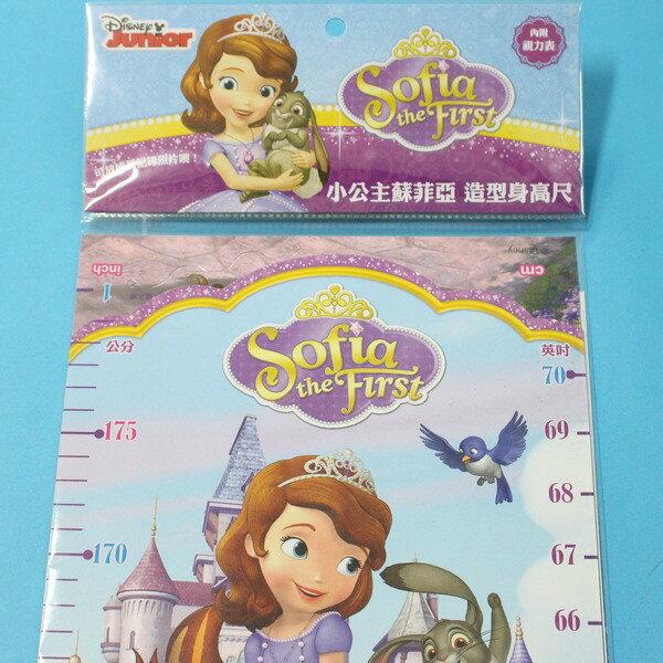 小公主蘇菲亞 造型身高尺 QL026 兒童身高尺 壁貼身高尺 量身尺/一個入{促120}~正版授權~