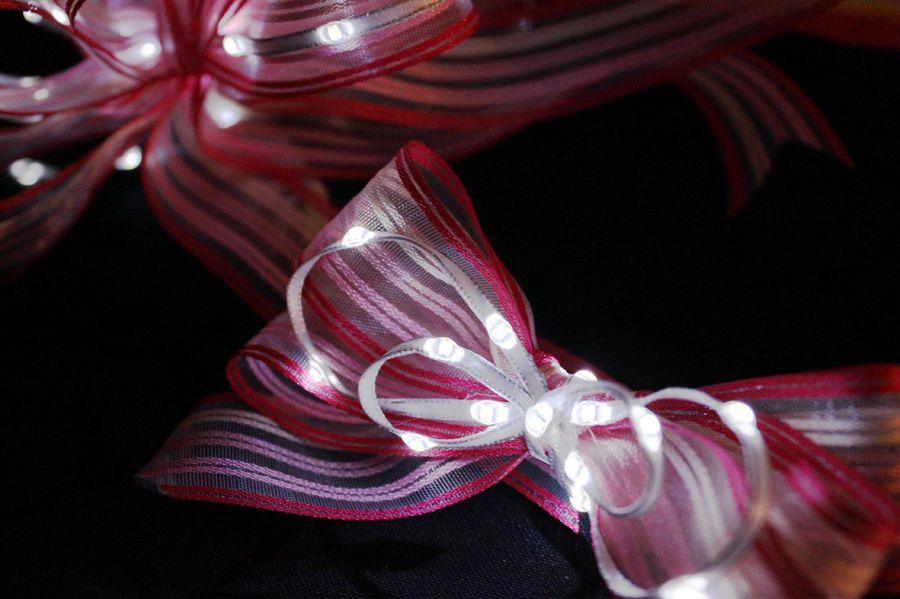 LiTex LED緞帶-白燈系列     聖誕節 婚禮佈置 派對節慶 DIY手工手作 舞台服裝 5