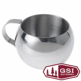 GSI Glacier Stainless Double Walled Espresso Cup 不鏽鋼雙層咖啡杯52ml 戶外 登山 露營 63390