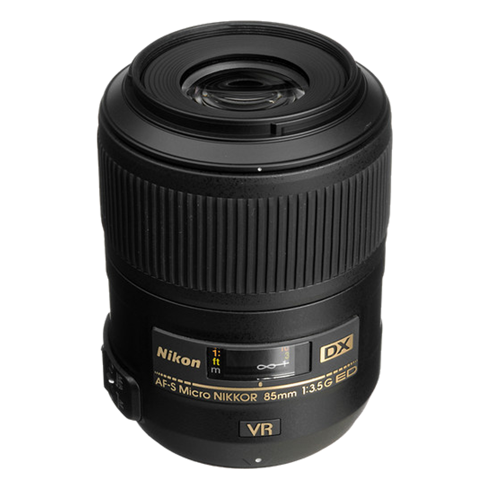 Nikon AF-S DX Micro NIKKOR 85mm f/3.5G ED VR Lens International Model