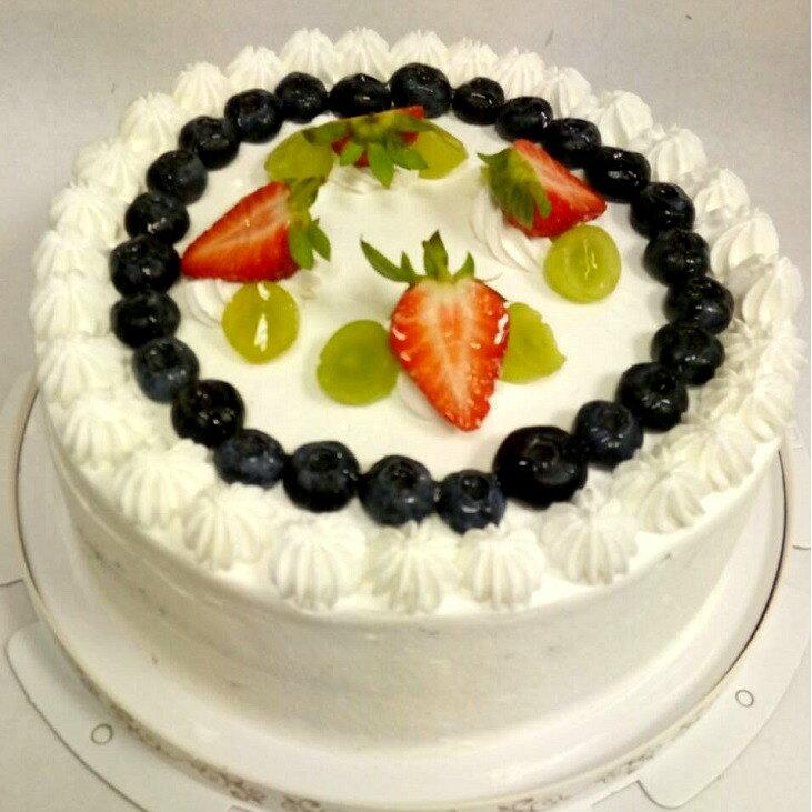 人氣商品/新鮮藍莓香蕉巧克力蛋糕/日本歐牧鮮奶油/生日蛋糕/日本鮮奶油