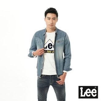 【 9折優惠 】Lee 101+ 牛仔長袖襯衫