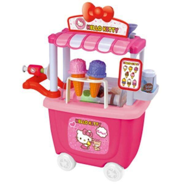 【HELLO KITTY】冰淇淋車