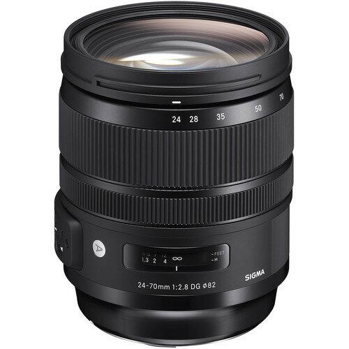 Sigma 24-70mm f/2.8 DG OS HSM Art Lens for Canon EF 576954 0