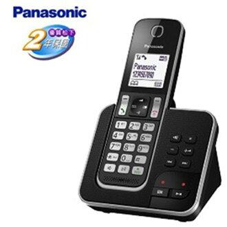 ★贈好禮 Beauty純綿運動巾SP-1507★『Panasonic』☆國際牌DECT 數位無線答錄線電話 KX-TGD320**免運費**