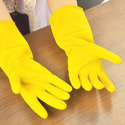 PS Mall 薄款洗碗洗衣手套 防滑橡膠手套【J1967】 3