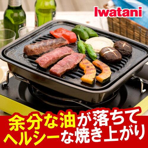 日本岩谷Iwatani/ CB-P-GM /燒肉方形鑄鐵烤盤29cm-日本必買 日本樂天代購(2260*2.2)
