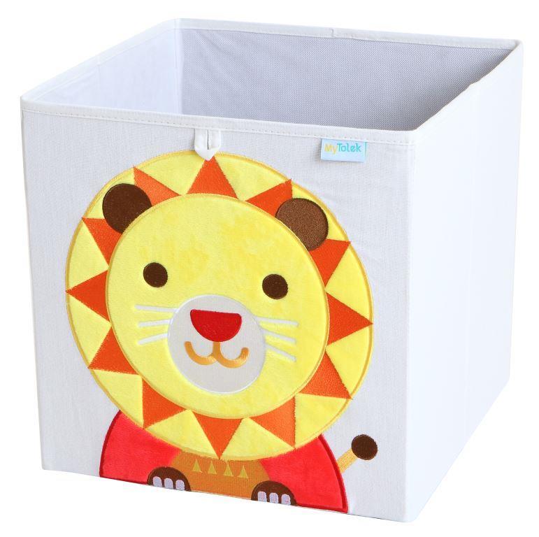 收納櫃 收納  收納箱 兒童收納 MyTolek 童樂可積木櫃&藏寶盒六件組(北歐風~木紋) 8