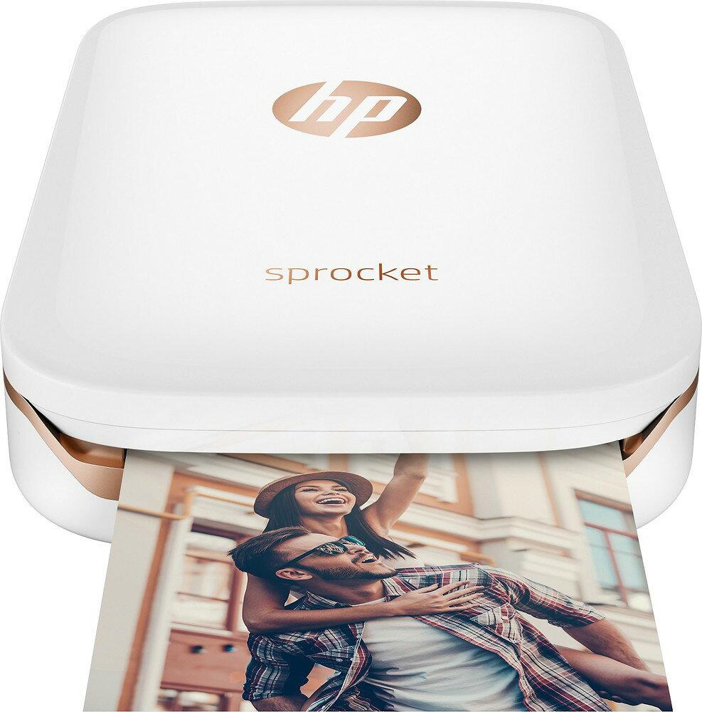 HP Sprocket Photo Printer  White Model: X7N07