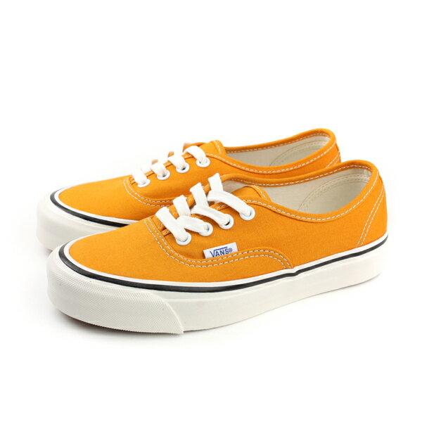 VANSAuthentic44DX休閒鞋綁帶帆布土黃色男鞋181010170no491