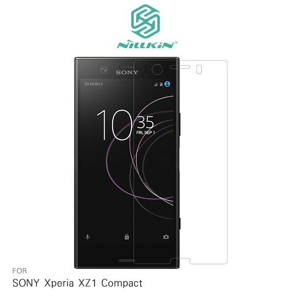 強尼拍賣~ NILLKIN SONY Xperia XZ1 Compact 超清防指紋保護貼 套裝版 含鏡頭貼 螢幕保護貼 XZ1C