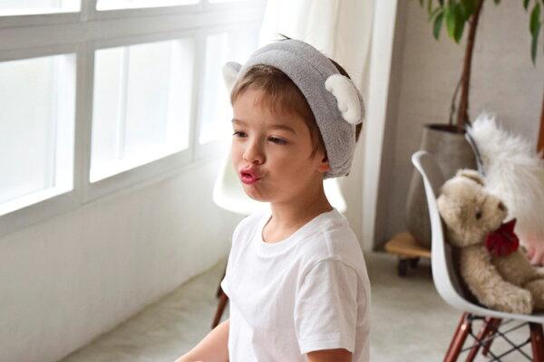 粉紅色現貨日本代購CARARI動物耳朵髮帶兔子兔兔小熊白熊吸水力強大人小孩白色灰色