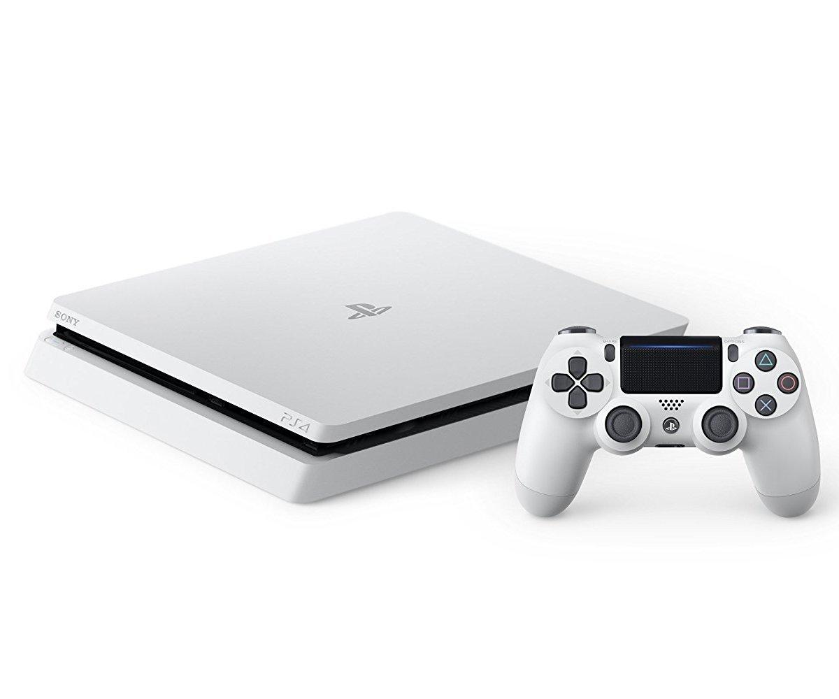 現貨供應中 公司貨 一年保固 贈控制器 [ PS4主機 ] PlayStation 4 主機500G (冰河白)