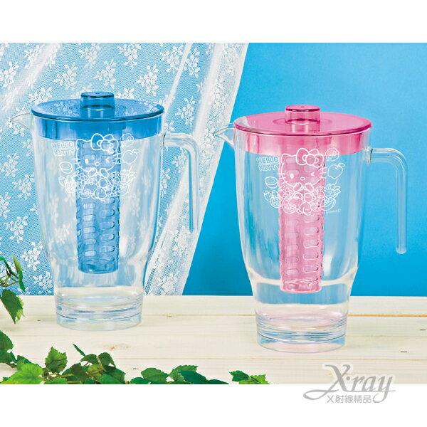 X射線【C010001】Hello Kitty塑膠冷水壺2L,水瓶/水瓶/水罐
