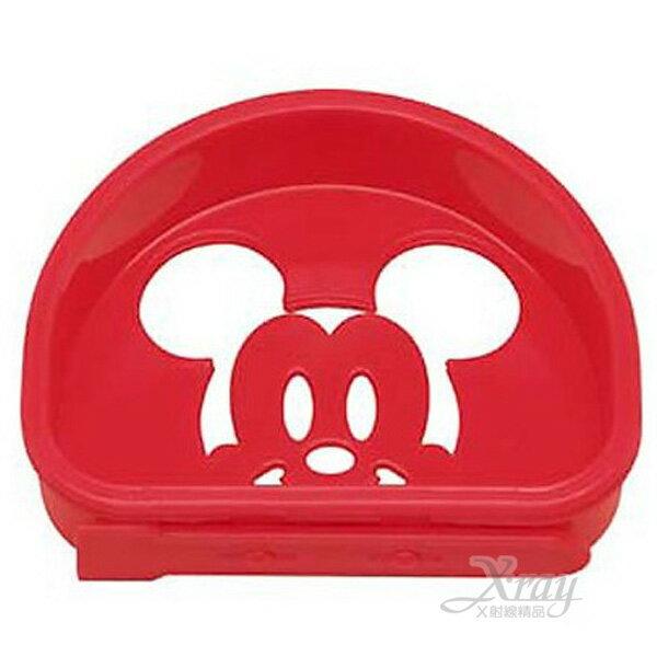 X射線【C122040】米奇造型粉篩(紅),DIY做餐模具/親子做餐必備/便當盒/開學必備