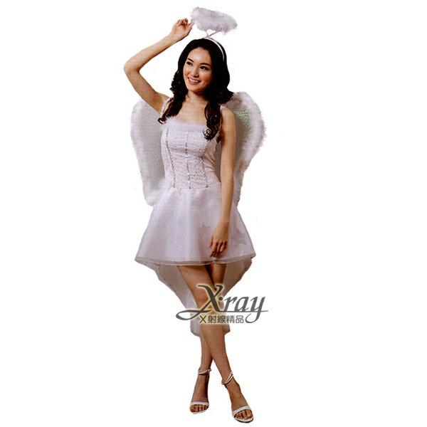 X射線【W380143】純潔俏天使,化妝舞會/上帝/尾牙/萬聖節/大人變裝/cosplay/表演/攝影/寫真/童話/仙子/精靈/公主