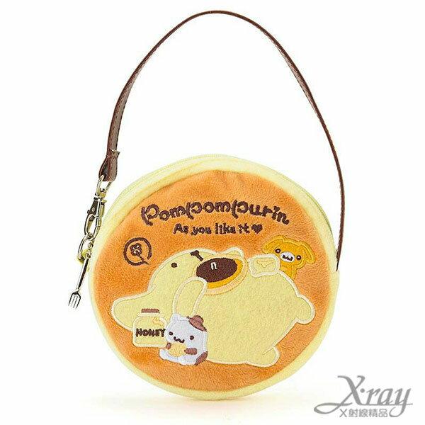X射線【C220004】布丁狗化妝包-鬆餅,萬用包/手提包/包包