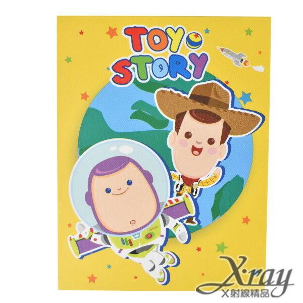 X射線【C101296】玩具總動員便條紙90K,筆記本/記事本/辦公小物/玩具總動員
