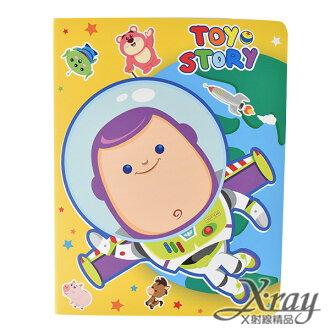 X射線【C104709】玩具總動員筆記本36K,便條紙/記事本/辦公小物/玩具總動員