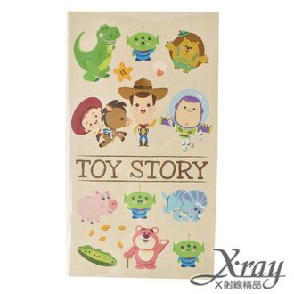 X射線【C105096】玩具總動員書本式便條紙-中,筆記本/記事本/辦公小物/玩具總動員