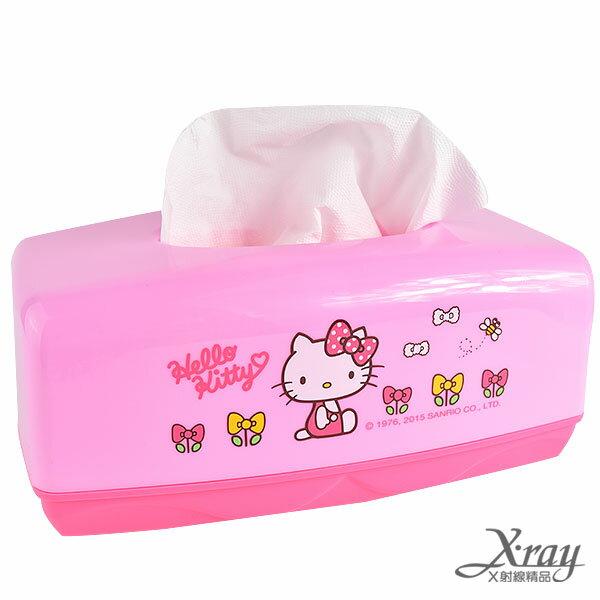 X射線【C528706】HelloKitty塑膠面紙盒,廁所衛生紙/面紙盒/車用/辦公桌/餐巾紙