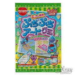 X射線【C032711】明治DIY手作點點公仔軟糖-葡萄口味,點心/糖果/餅乾