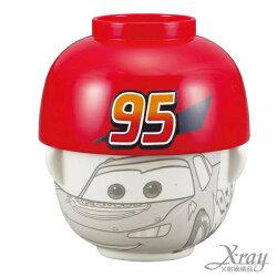 X射線【C229353】迪士尼碗蓋組(小)-Cars麥坤,環保/餐具組/飯碗/玻璃碗/送禮自用