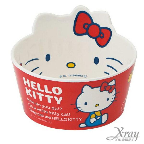 X射線~C341243~Hello Kitty 美耐皿 碗^(450ML^),湯碗  飯碗