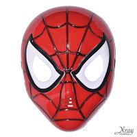 萬聖節Cosplay配件推薦到X射線【W060006】蜘蛛人LED發光面具,萬聖節/Party/角色扮演/化妝舞會/表演造型都合適~就在X射線 精緻禮品推薦萬聖節Cosplay配件