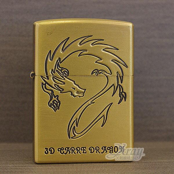 X射線【Y020258】煤油打火機(龍.浮雕)鋅合金打造,附精美禮盒/防風打火機/男士精品/情人節禮物