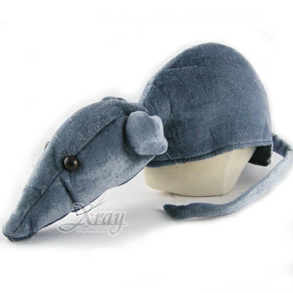 X射線~W010020~動物 帽^(老鼠^),萬聖節 Party 角色扮演 化妝舞會 表演